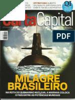 Carta Capital - Milagre Brasileiro - Na rota do Submarino Nuclear
