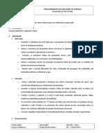 Procedimento Execução de Serviço - Alvenaria Estrutural
