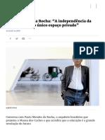 Expresso | Paulo Mendes da Rocha