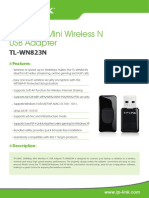 TL-WN823N V2 Datasheet