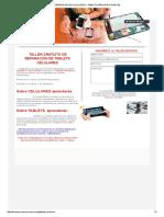 Reparacion de Celulares y Tablets Para Principiantes