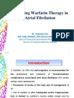 Warfarin in AF
