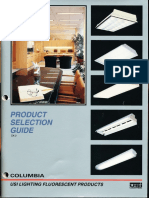 Columbia Lighting Product Selection Guide Edition 2 1992