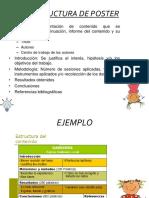 Estructura de Poster