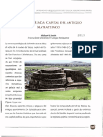 Calixtlahuaca Capital Del Antiguo Matla
