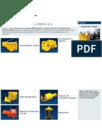 Equipo de Mineria Convencional Palas Locomotora Winche Imim Sac