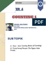 Kombinatorika Counting 1 Zainul Mujtahid 90117003