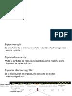 Espectro fotometria