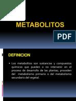 metabolitos