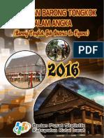 Kecamatan Barong Tongkok Dalam Angka 2016
