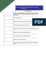 v02 Chekclist Documentos Maestria