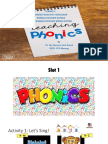 Introduction to Phonics