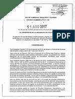 Decreto 1343 Del 11 de Agosto de 2017