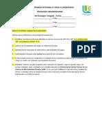 Guía de Trabajo Actividad #5 Visita a Laboratorio