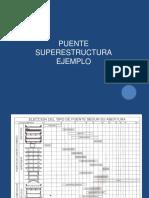 Ejemplo Puentes Superestructura