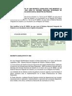Decreto Lesgilativo Nº 1288 Decreto Legislativo Que Modifica La Ley Nº 28294