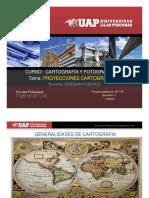 Sesion 03 Cartografia -Tema Proyecciones Cartograficas
