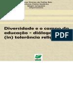 DIversidade e o Campo Da Educação - Diálogos Sobre (in) Tolerância Religiosa
