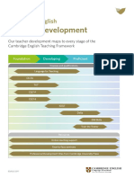 Cambridge Teacher Mapping Document