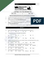 4year Sample Paper-1