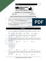 4year Sample Paper-3