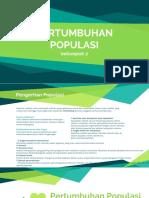 Kelompok 2 - Pertumbuhan Dalam Populasi