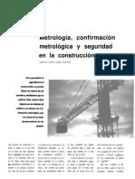4 Metrologia Confirmacion Metrologica y Seguridad en La Construccion