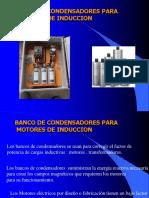 Tema 1.9 Bco de Condensadores Para Motores Induccion