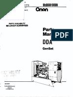 Manual de Partes y Piezas PEE ONAN