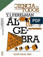 Algebra Recreativa v2 - Yakov Perelman