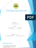 Hidrogeología Aplicada