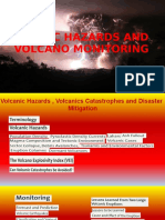 Volcanic Hazards and Monitoring - Ppt