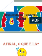 Fundamentos de Linguísitica Aplicada