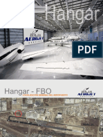 Presentacion de proyecto de Hangar