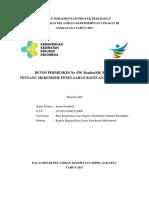 Imran Pambudi - Revisi Permenkes Tentang Mekanisme Penelaahan Bantuan Luar Negeri