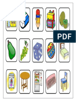 Fichas de Objetos 10 Imp