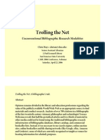 Chris Mays - 2006 - Trolling the Net - Unconventional Bibliographic Research Mod Ali Ties