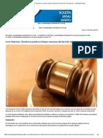 Corte Suprema_ Herederos Pueden Reclamar Intereses Del Derecho Del Causante - Actualidad Legal