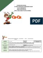 Planeacion Anual de Trabajo Sara Haide 2015-2016