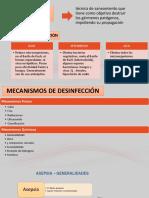 Asepsia y Desinfeccion