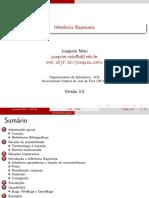 MBP Inferência Bayesiana