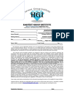 HGI Buisness Launch Course Reg Form