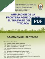 Ampliacion Agricola