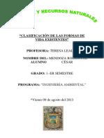 Trabajo Biología Ambiental
