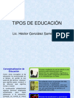 Clase 2_ Unidad 1_Tipos Fines _ Educaion y Desarrolo