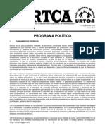 PROGRAMA DE URTCA