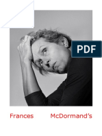 Frances McDormand's Difficult Women