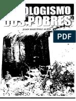 10.1 MARTINEZ-ALIER. Ecologismo Dos Pobres