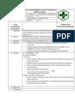 3. 8.2.1 EP7 Sop Evaluasi Ketersediaan Obat Terhadap Formularium