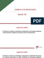 PPT de La Dictadura a La Democracia